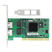 Placa De Rede Dual Giga Pci Intel Pro 82546 8492mt