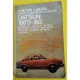 Antiguo Manual De Reparación Y Afinación Datsun 1973-80
