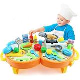 Juguetes Utensilios De Cocina Comedor Mini Infantil Kitchen
