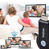 Pack De 2 Dongle Anycast Smart Tv Hdmi Wifi Celular