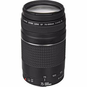Lente Canon 75-300mm F/4-5.6 Iii Ef Autofoco Pronta Entrega