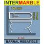 Barral Rebatible Baño Discapacitado 70x20 Con Portarrollo