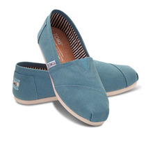 Zapatos Toms Canvas Mujer
