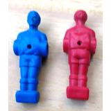 Repuesto Jugadores Para Futbolito En Rojo Y Azul
