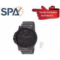 Pulseira Dourada Relógio Puma 96216gppmpa7