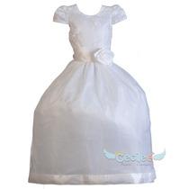 Vestido Primera Comunion Elegante De Lujo Niña Exclusivo 198