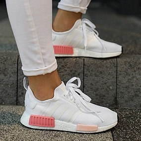adidas nmd beige mujer