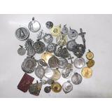 Lote De Medallas Religiosas Antiguas, Muy Raras !!!