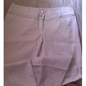 Pantalón Blanco Nuevo Divino! Super Precio X Mudanza!