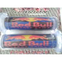 Manopla Red Bull Azul E Vermelha