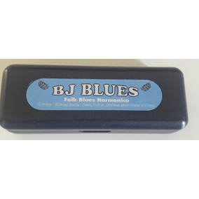 Gaita Bj Blues - Folk Blues 10-hole Harmonica