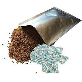 Dry-pack 10 Bolsas De Mylar Y Absorbentes De Oxígeno Para