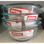 Bowl Pyrex Vidrio Refractario Ensalada Envase Mezclar 1 Lts
