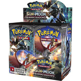Pokemon Tcg Burning Shadows Caja 18 Sobres Español