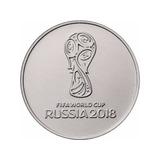 Mundial Futbol Rusia 2018 Moneda De 25 Rublos F I F A