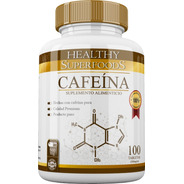 Cafeina Anhidra Premium 100 Servicios 100 Tabs 200mg