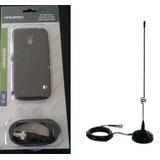 Capa Adaptadora Sinal Celular Samsung J5 + Antena Veicular
