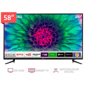 Televisor Smart Tv 4kuhd De 58 Pulgadas Samsung Un58mu61203