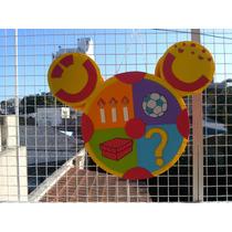 Piñata Infantil En Goma Eva Mickey Oh Toodles