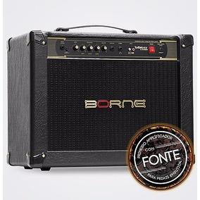 Amplificador Cabeçote Para Guitarra Borne Vorax 12100 Preto