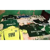 Camisas Originais Do Palmeiras.usadas .da Era Parmalat.