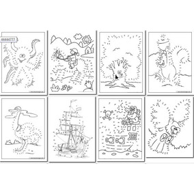 90 Dibujos Para Imprimir Y Unir Puntos