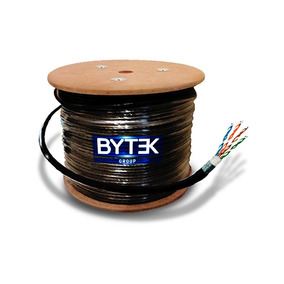 Cable 8 Hilos, Calibre .54, Doble Forro+malla, De 300m.