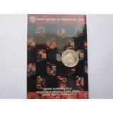Moneda Blister 1 Un Nuevo Sol Arte Textil Paracas - Ica 1