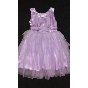 Vestido Festa Infantil Dama Florista - Pronta Entrega