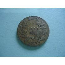 Moeda De 1000 Réis De 1927 Bronze Alumínio Rara