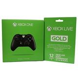 Microsoft Xbox Live 12 Meses De Membresía De Oro Xbox One W
