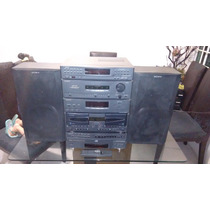 Modular Sony Modelo Lbt-a30,2 Cassetteras,5cds,auxiliar,tune