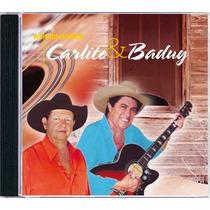 Cd - Carlito & Baduy As Melhores