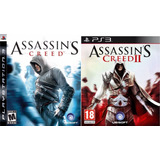 Assassins Creed 1 + 2 Double Edition Ps3