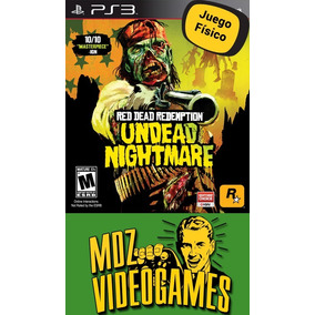 Red Dead Redemption Nightmare - Ps3 - Físico - Mdz Videogame
