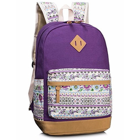 Mochila De Escuela Leaper Purple1 [8891]