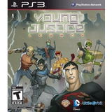 Liga Justiça Jovem Young Justice Legacy Psn Ps3 Português
