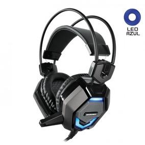 Audifono Microfono Gamer Micronics Ludico 1 Iluminación Led