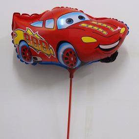10 Globos De Figura Fiesta Tema Cars Mack Mate Rayo