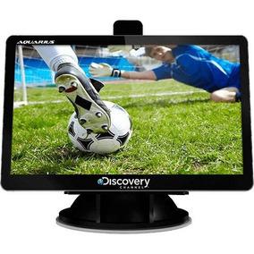 Gps Automotivo 4.3 Pol Alerta De Radar E Tv Digital Aquarius