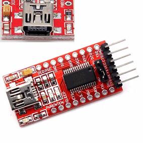 Placa Ftdi 3,3 / 5v Compatível Com Arduino Postagem Em 24hrs