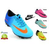 Chuteira Infantil Futsal Campo Society Nike Futebol Tênis