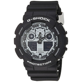 G-shock Ga-100bw-1a White And Black Series Luxury Watch - Bl