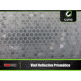 Vinil Reflectivo Prismático Imprimible 1.35 X Metro