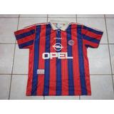 Camisa Do Bayern De Munique - Ano 1995 - Opel adidas Munchen 5aed61dc00167
