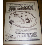Lote 5 Publicidades Originales Neumaticos Fibrinax (022)