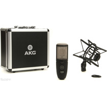 Akg P-420 - Microfono Condenser Multipatron Profesional
