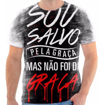 Camisa, Camiseta Gospel Moda Evangélica Frases Cristã 107