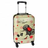 Mala Mochila Infantil Escolar Minnie Mouse Disney 4 Rodinhas