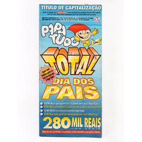 Antigo Titulo De Capitalização Papa Tudo Dia Dos Pais - 1997